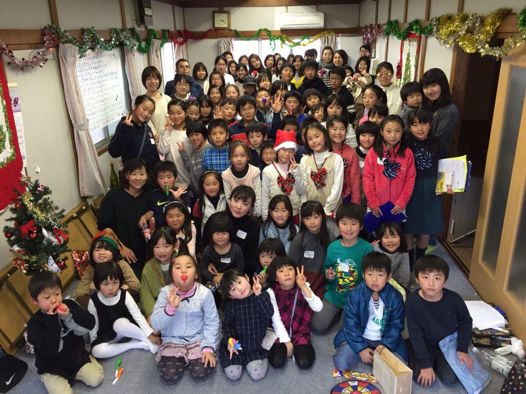 昨年のクリスマス会の集合写真